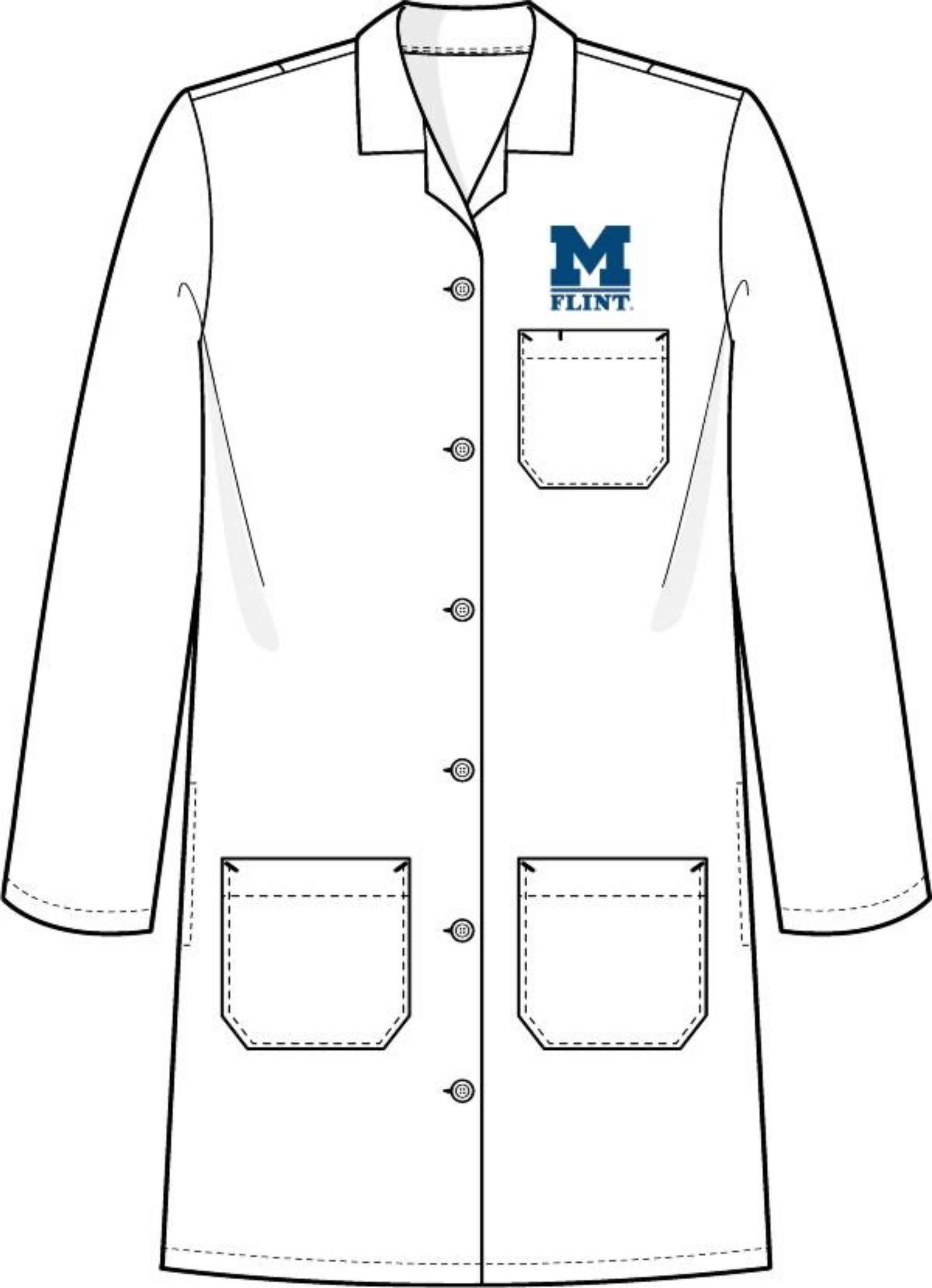 Lab coat clipart.