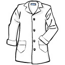 Lab Coat Free Clipart.