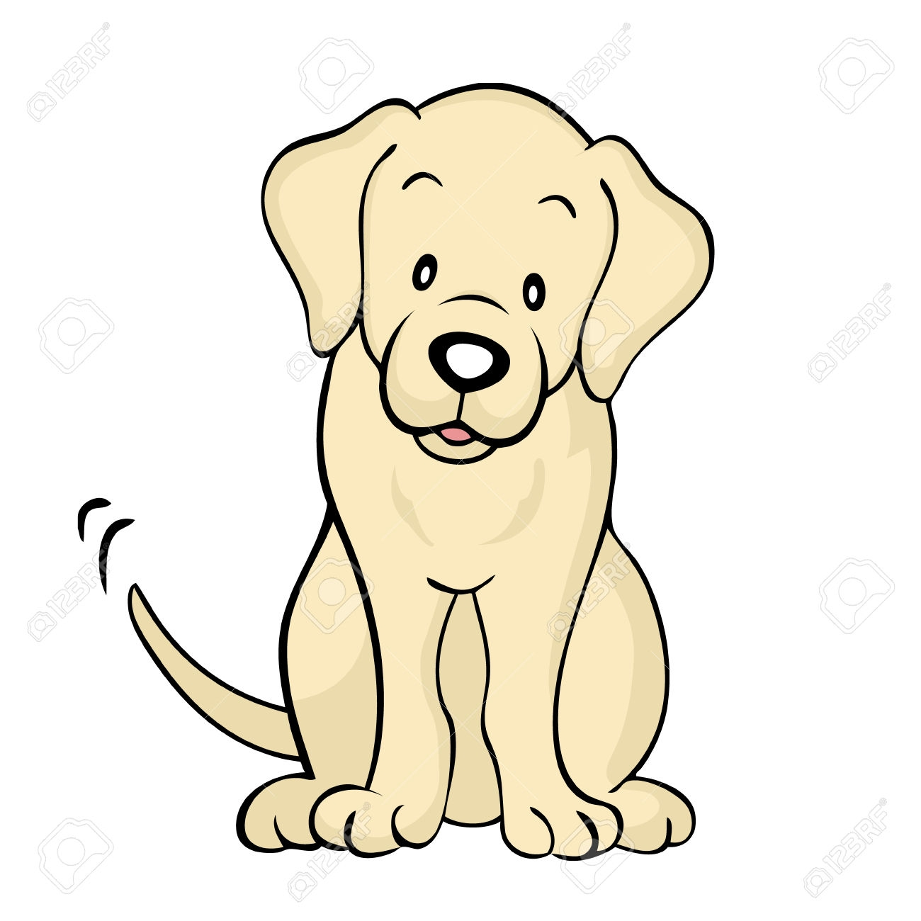 Lab dog clipart 1 » Clipart Station.