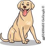Labrador Retriever Clip Art.