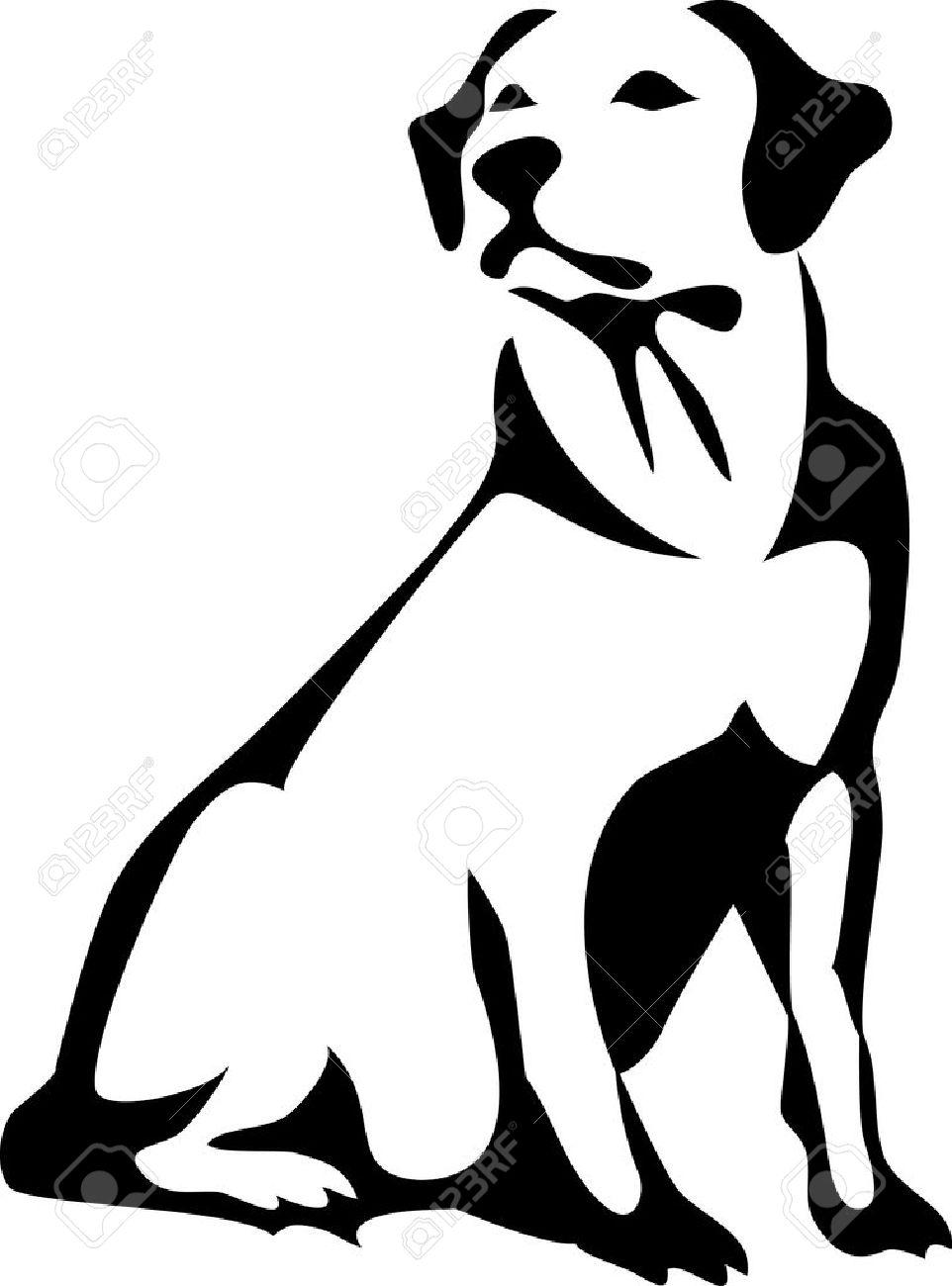 Lab Dog Clipart.