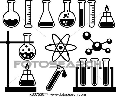 Chemistry Lab Equipment Clipart (102+ images in Collection) Page 1.