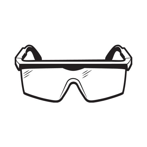 Safety Goggles Clipart.