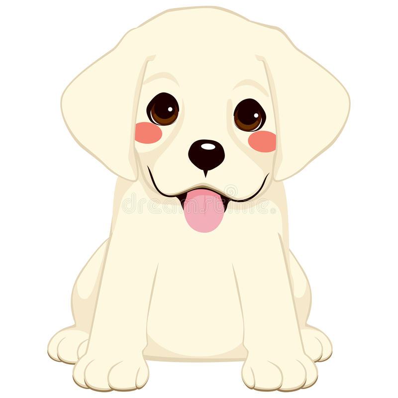 Labrador Puppy Stock Illustrations.