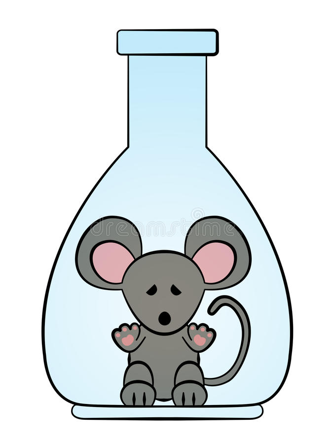 Lab Rat Stock Illustrations.