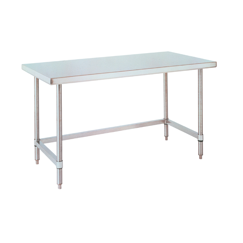 Stationary Lab Table With U Frame (Stainless Steel).