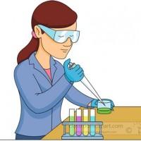 Clipart Lab Technician.
