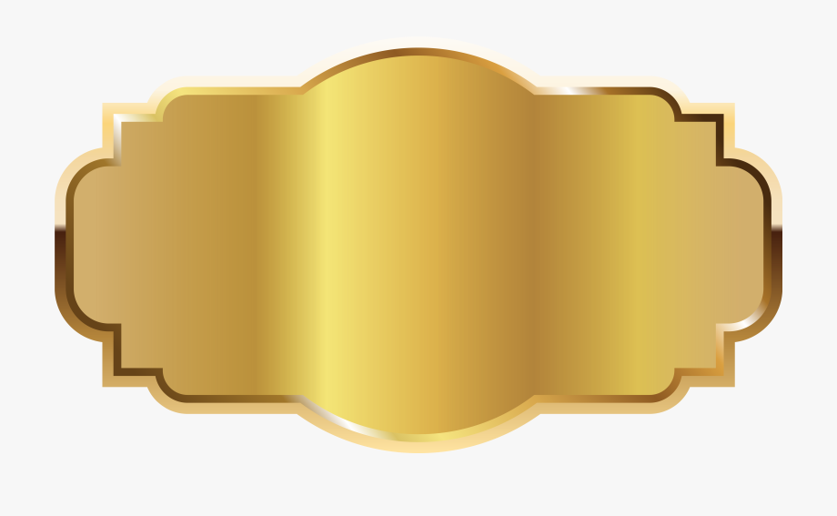 Gold Label Template Clipart Png Imageu200b Gallery.