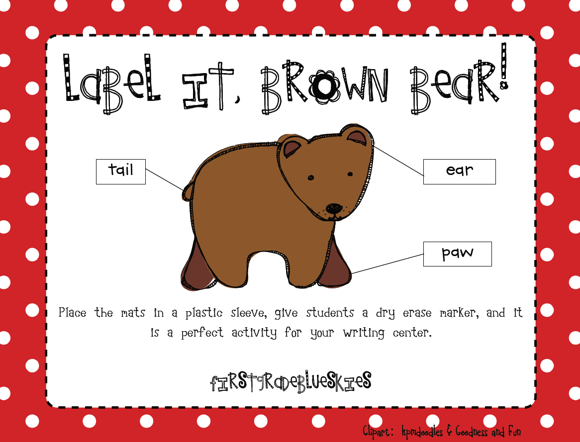 Labeling clipart #12