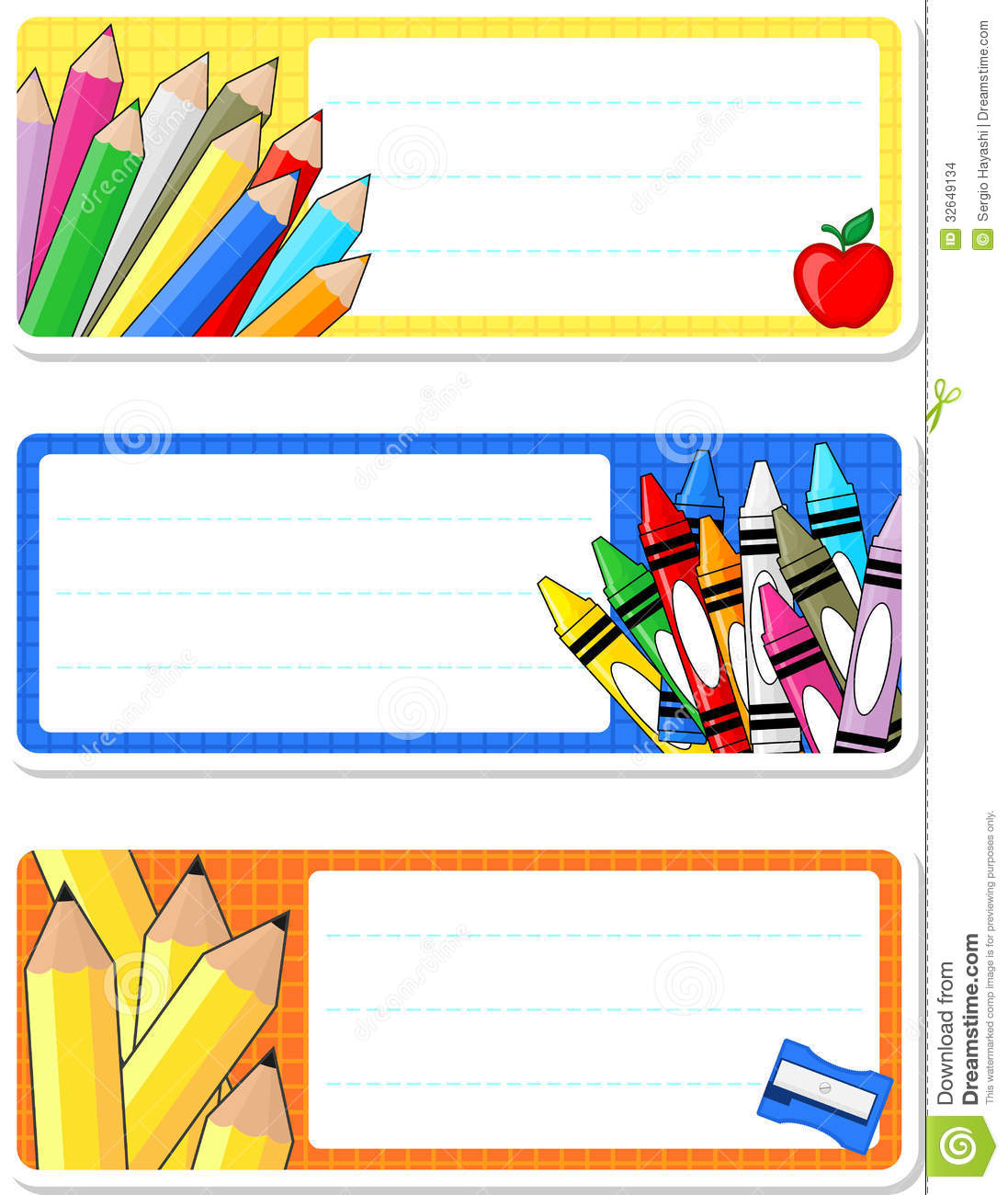 labels for education clip art.