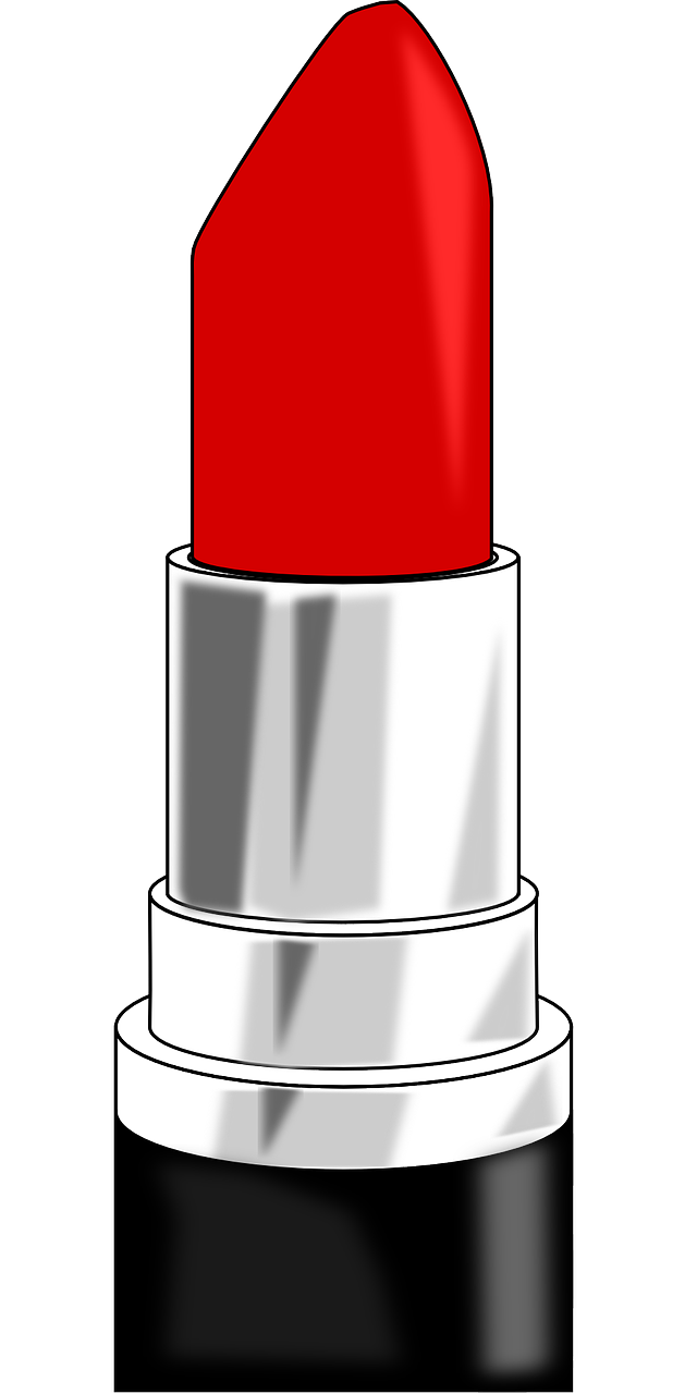 Lipstick Red Labial Lips PNG.