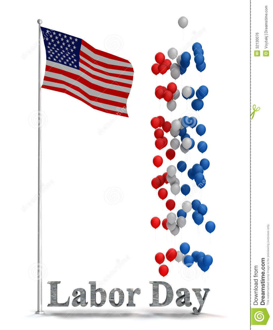 Labor Day Clipart Border 2014, Labor Day 2014 Clip art.