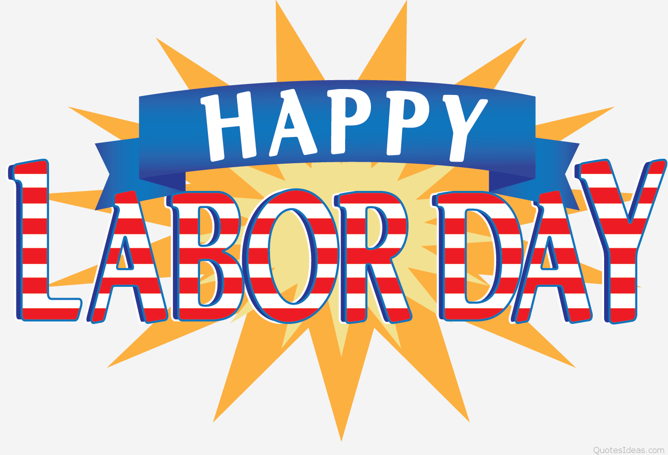Happy Labor Day 2016 Clipart.
