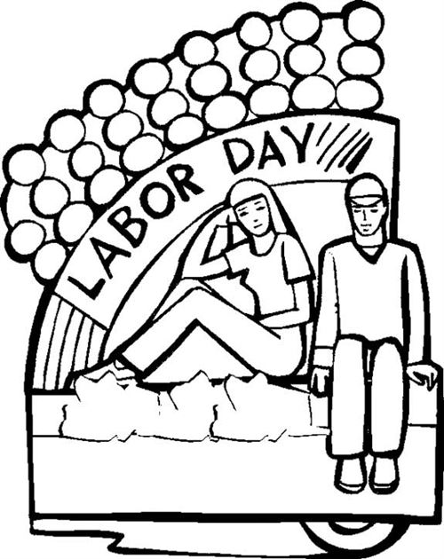 Labor Day Free Clipart.