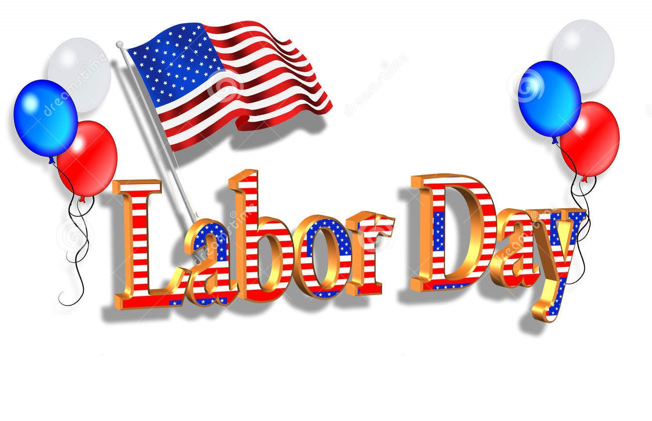 Labor Day Clip Art Borders.
