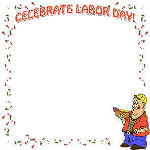 Free Labor Day Borders.