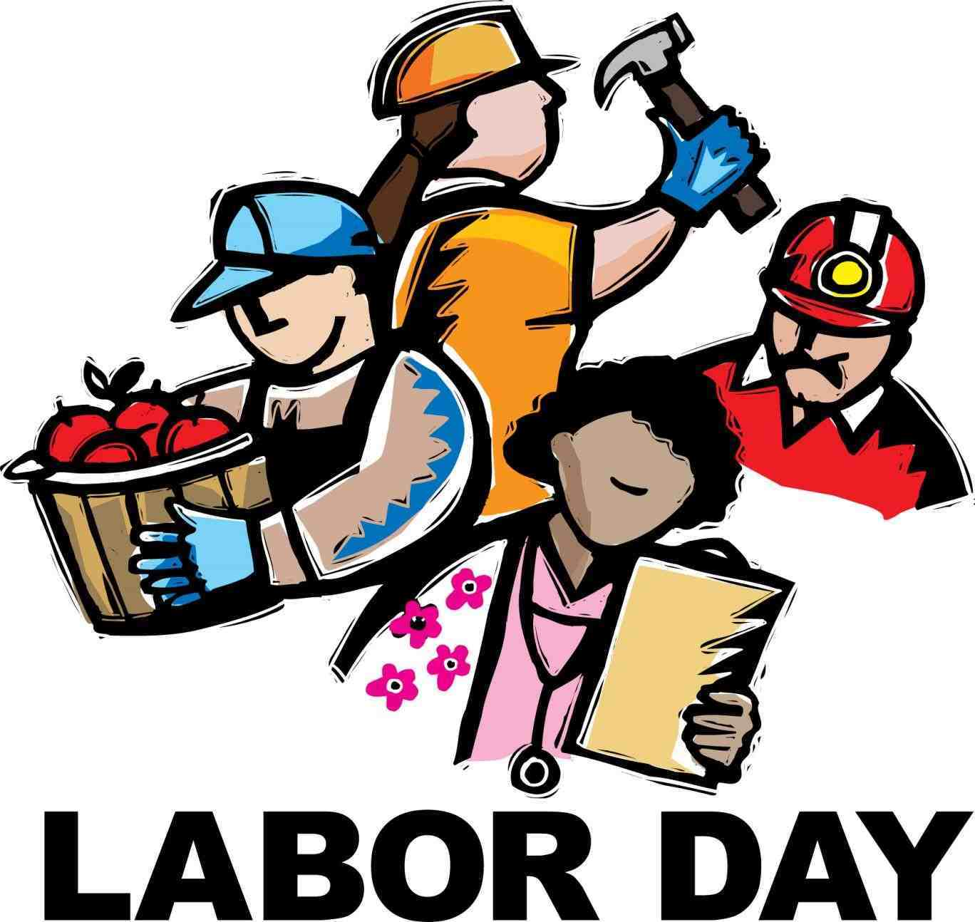 319 Labor Day free clipart.
