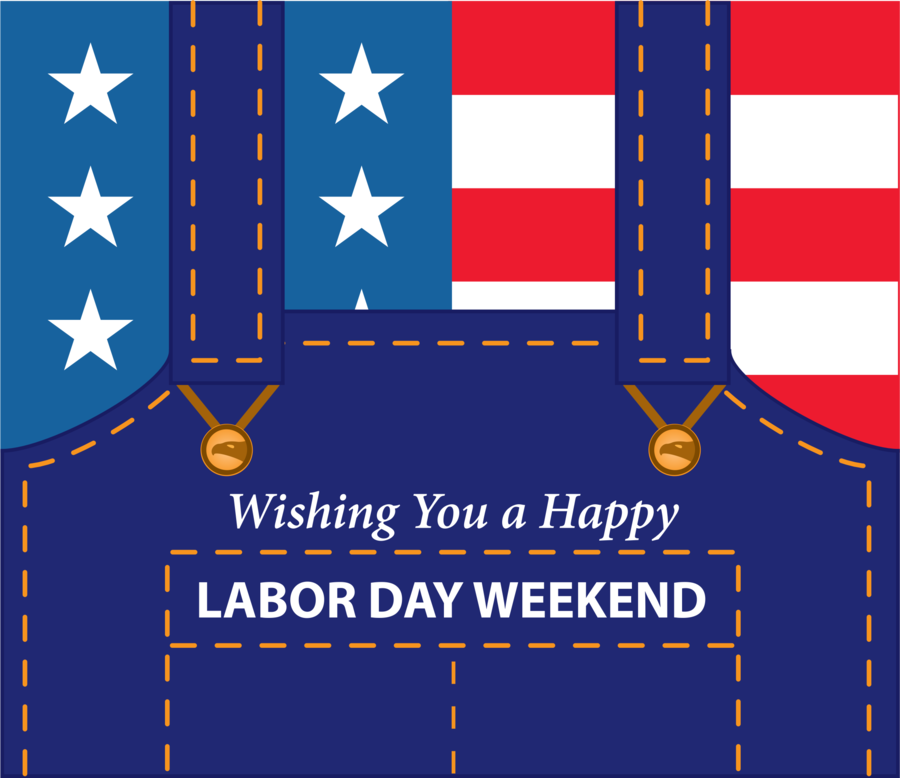 Labor Day National Flag clipart.