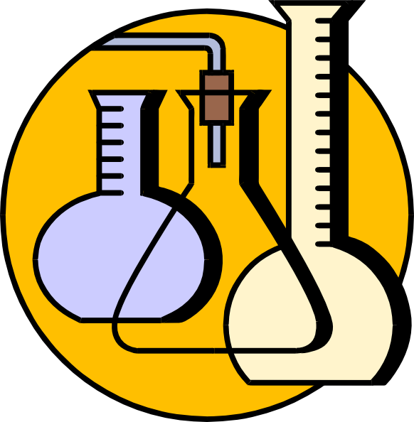 Chemical Lab Flasks Clip Art at Clker.com.