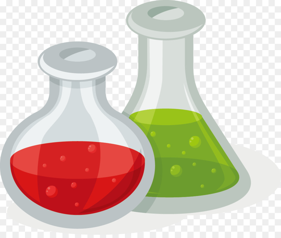 Laboratory Flask Liquid png download.
