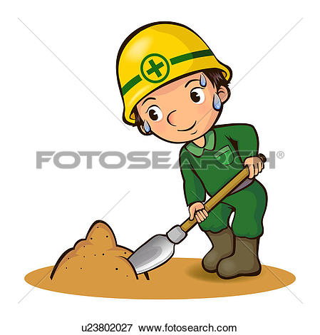 Clipart of Labor Day, laborer, physical labor, ship, vessel.