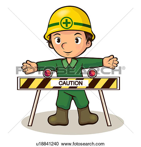 Clip Art of clock, architecture, industry, worker, laborer.