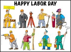 Clipart labour day.