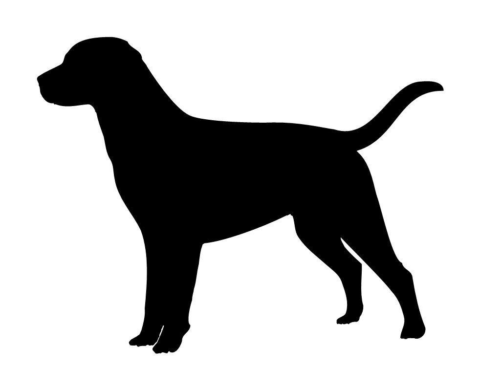 Labrador Retriever Dog Lab Stencil Black Lab Chocolate Lab.