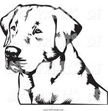 Image result for labrador retriever profile silhouette.