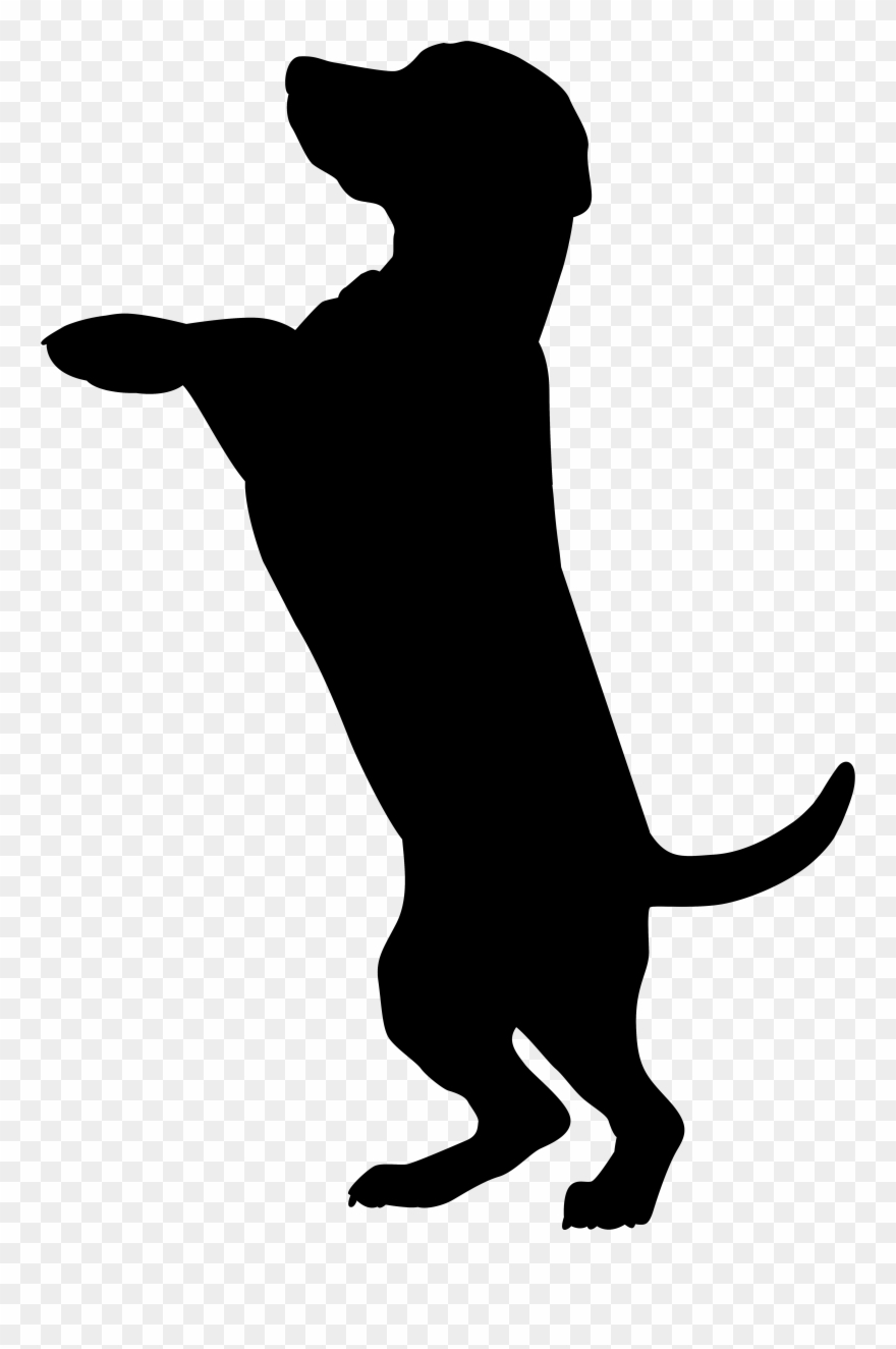 Chocolate Lab Silhouette At Getdrawings Com Free.