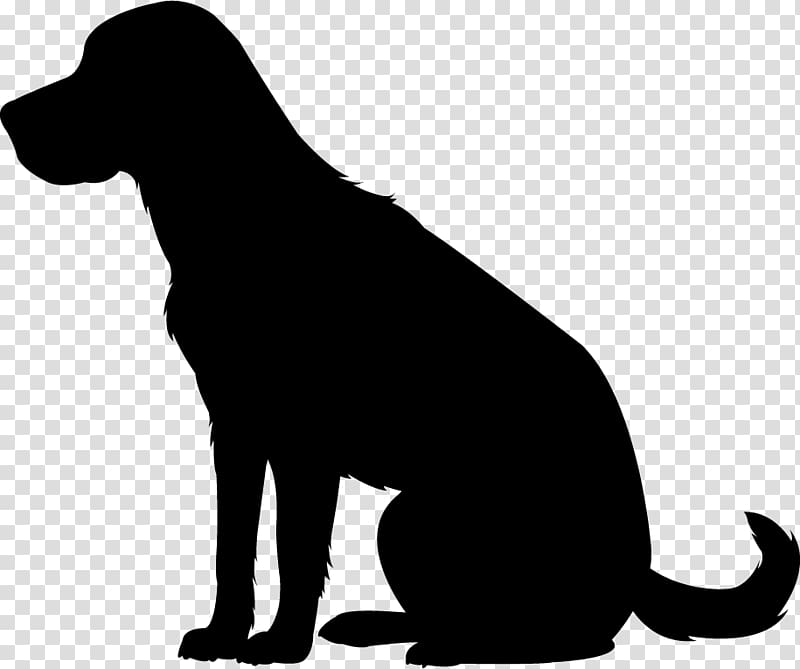 Labrador Retriever Puppy Dog breed Silhouette , puppy.