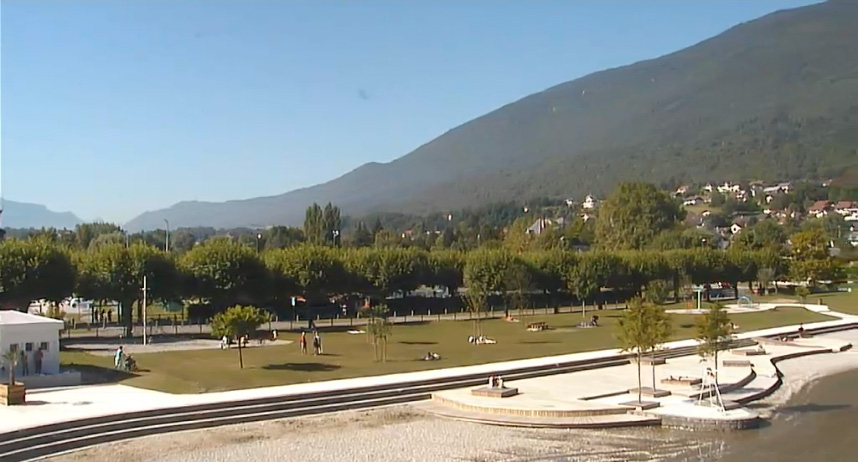 Webcam du Bourget du Lac.