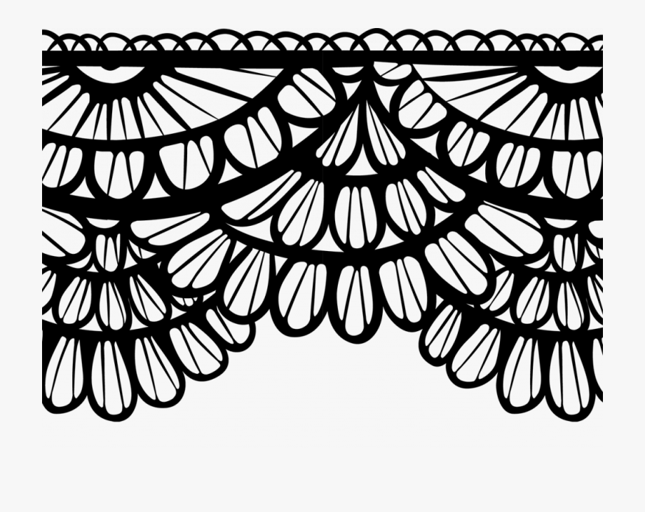 Download Enjoyable Lace Border Clip Art.