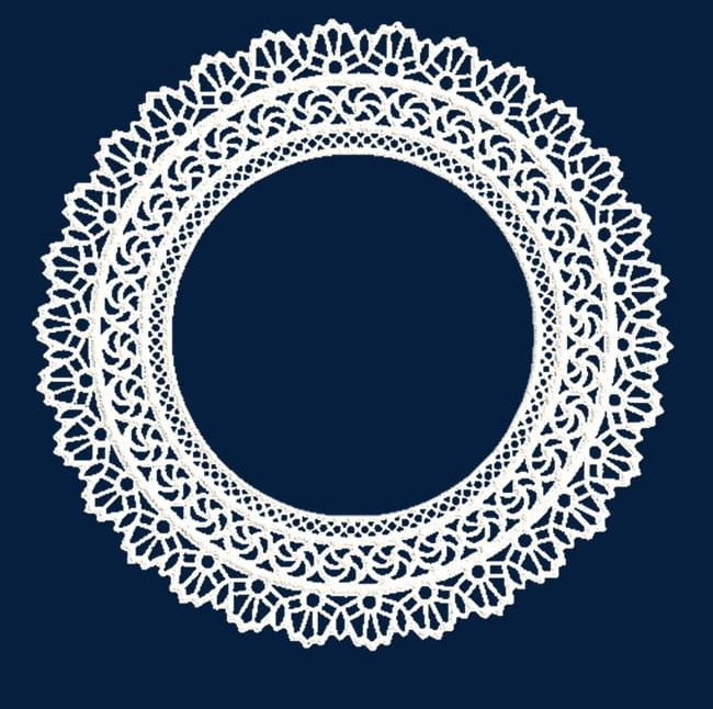 White Lace Circle Mesh PNG, Clipart, Abstract, Backgrounds, Border.