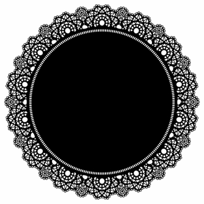 lace circle.