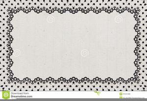 Victorian Lace Border Clipart.