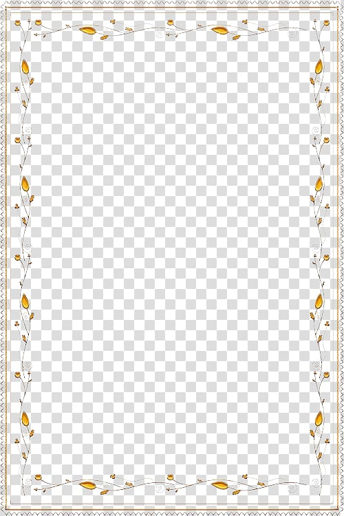 Yellow border , Google Lace Computer file, Lace border.