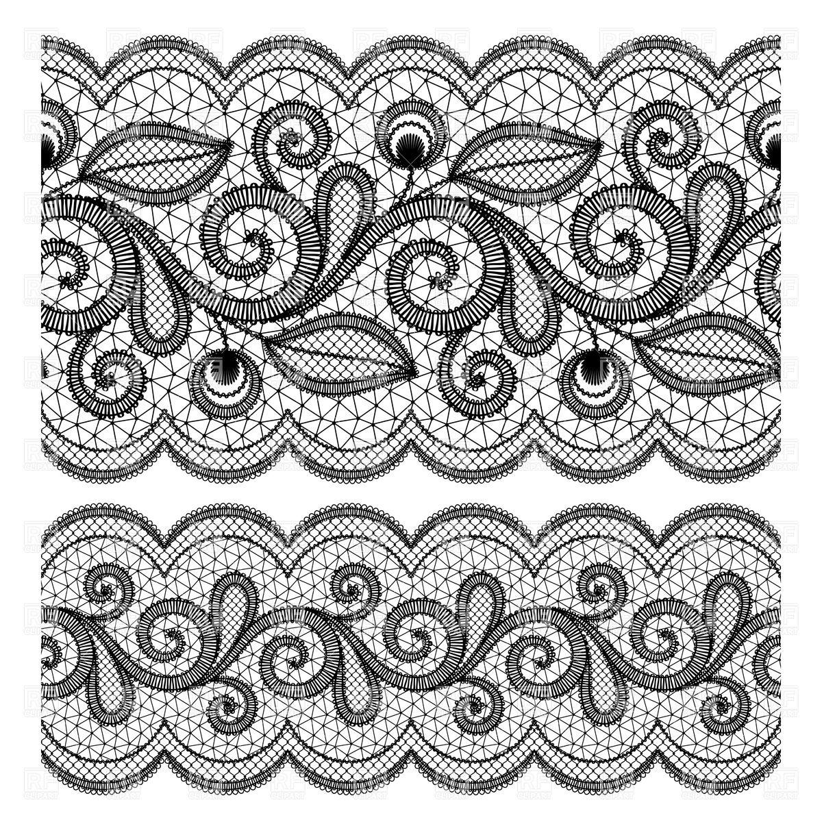 lace texture.