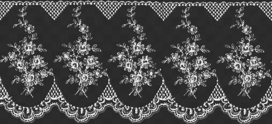 31 PNG, Lace on transparent background.
