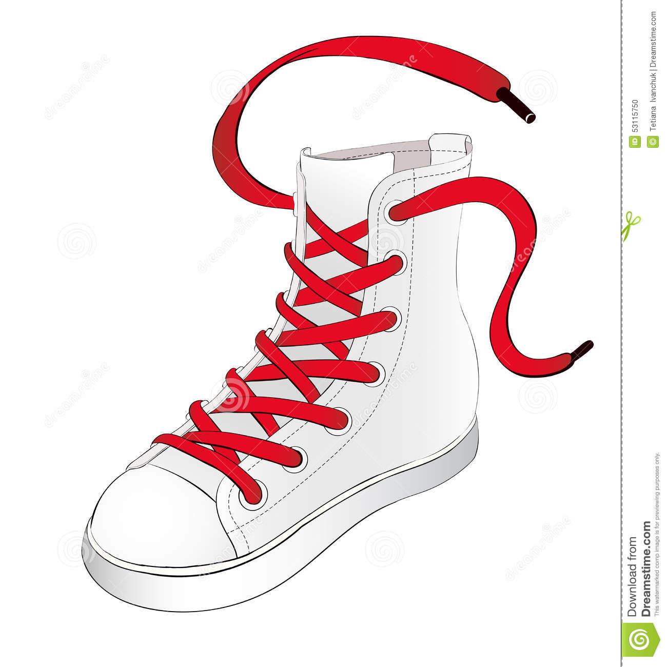 Clipart shoe laces.