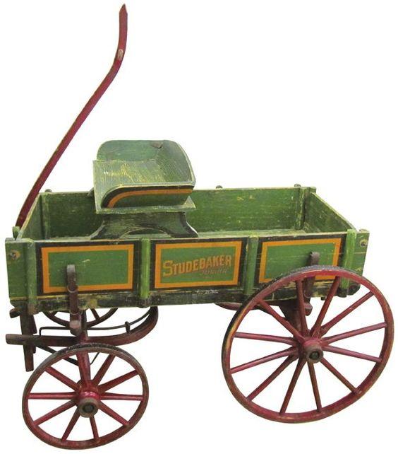 Studebaker Child's Goat wagon.