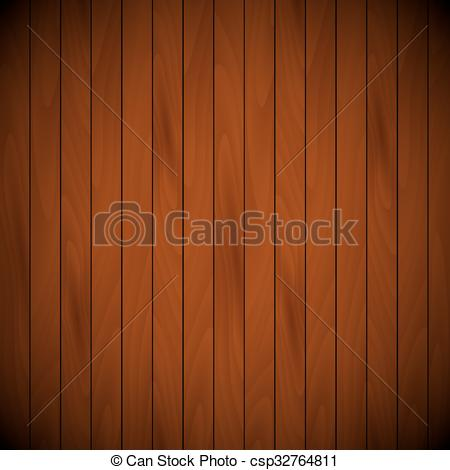 Vector Clip Art of wooden lacquered background top view.
