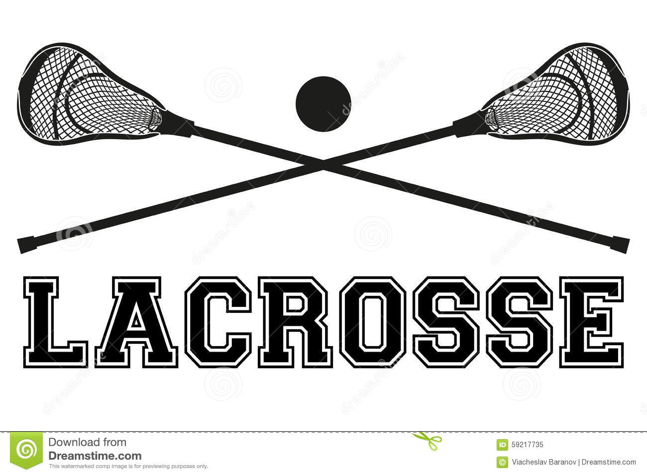 1013 Lacrosse free clipart.