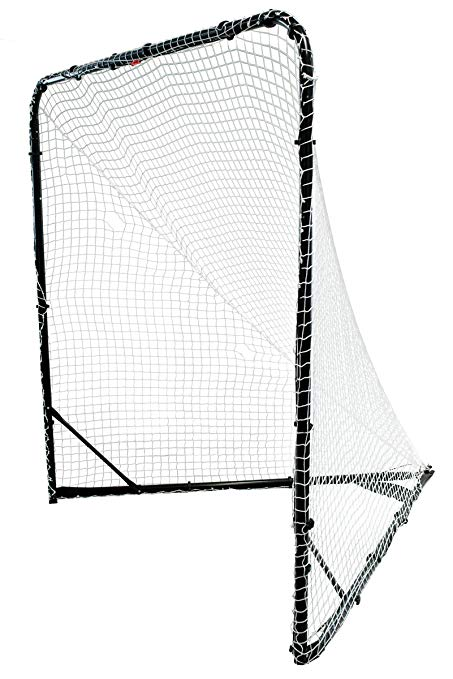 Park & Sun Sports Steel Frame Lacrosse Goal with Nylon Bungee Slip Net and  Carrying Bag, 6\' W x 6\' H x 7\' D.