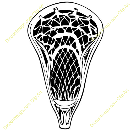 Lacrosse Stick Crossed Lacrosse Stick Clipart.