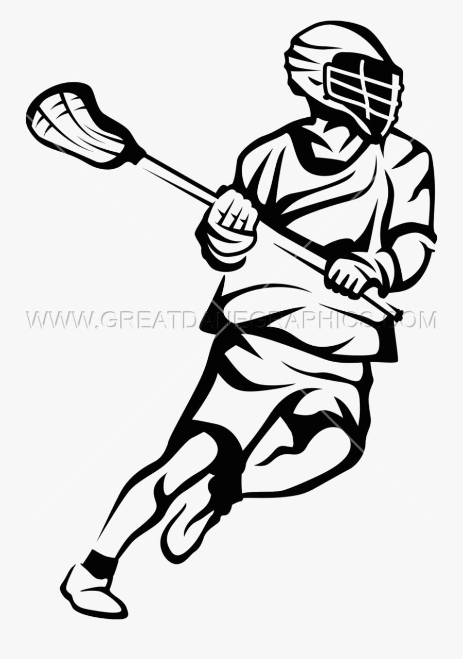 Lacrosse Sticks Drawing Clip Art Image.