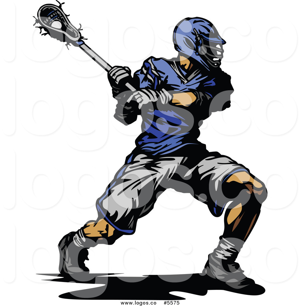 People Playing Lacrosse Clipart.