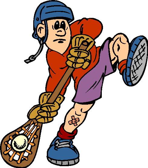 Lacrosse Clipart.