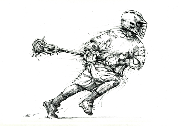 Free Lacrosse Clipart Pictures.