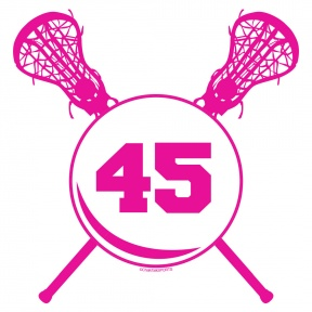 Cartoon Lacrosse Sticks.